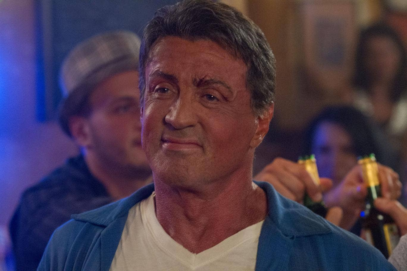 Sylvester Stallone stars in Expendables 3