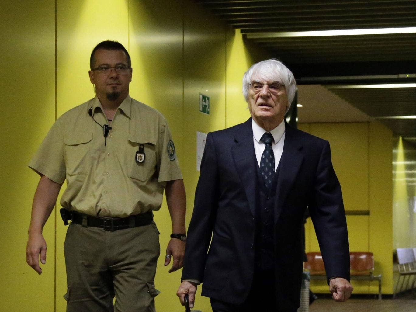Bernie Ecclestone was accused of paying a £26m bribe for the sale of Formula One to a private equity firm