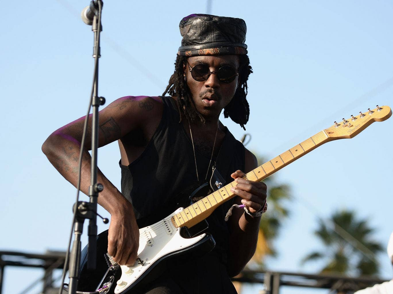 Dev Hynes says the alleged assault left his 'bruised' and 'shaken' but happy to be alive
