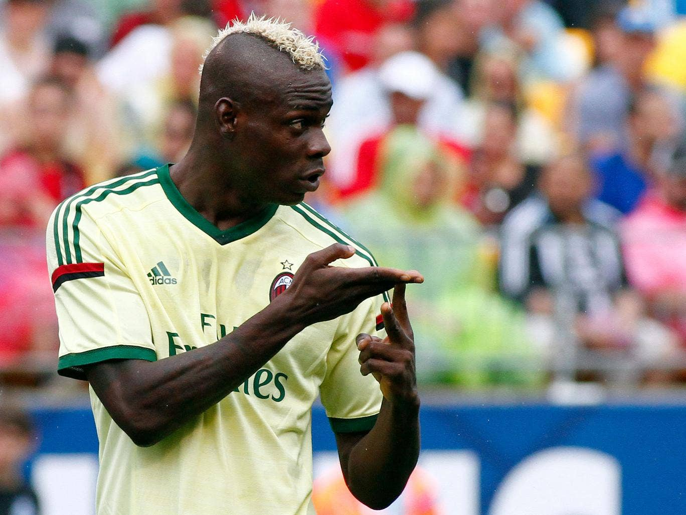 Mario Balotelli is a reported target for Liverpool