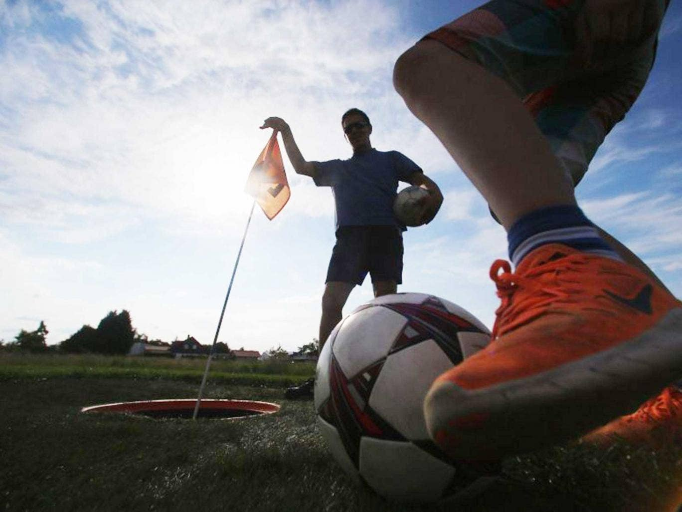 Kick-off: The US has almost 200 FootGolf courses across 37 states