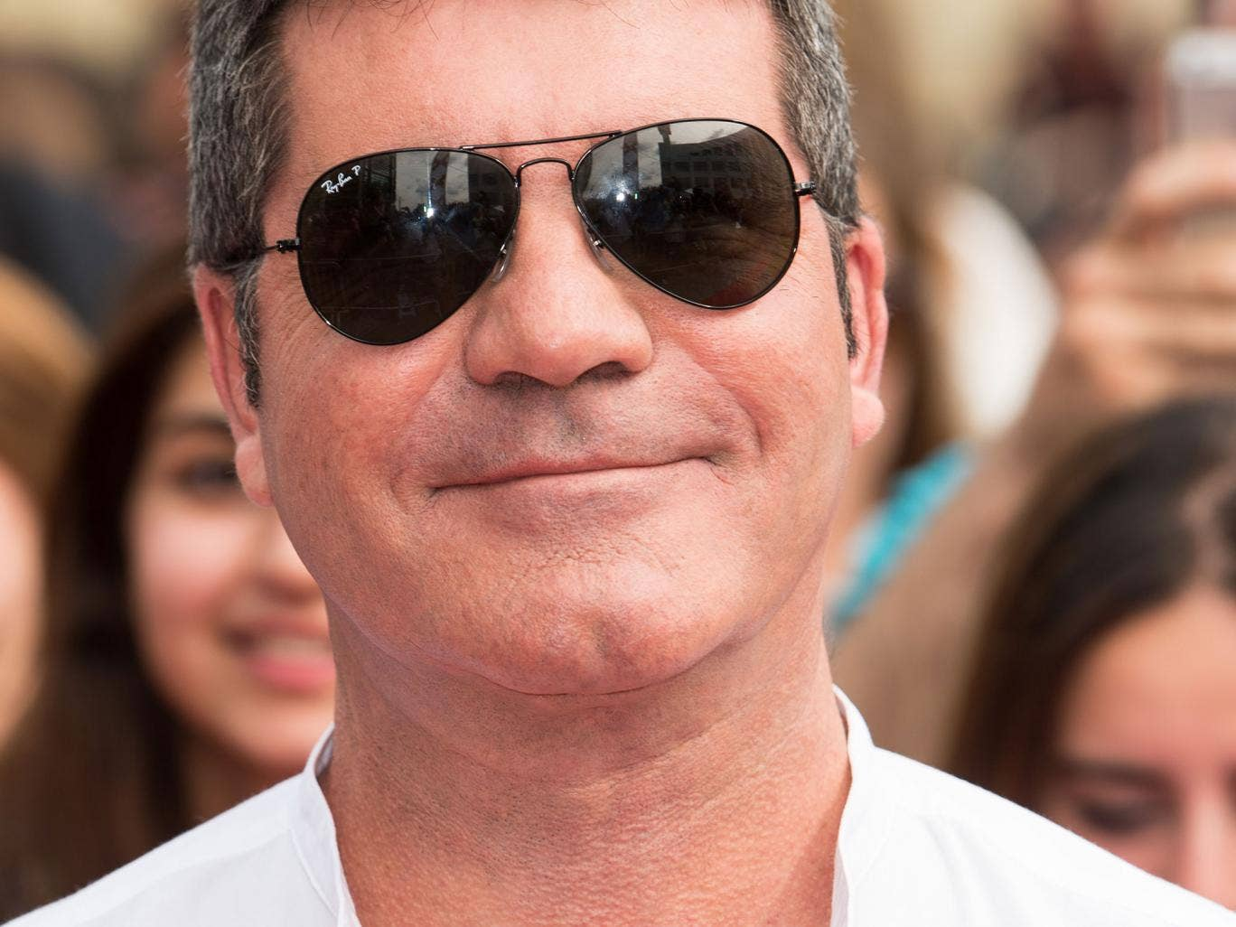 Simon Cowell is less than impressed with the Strictly/X Factor scheduling clash