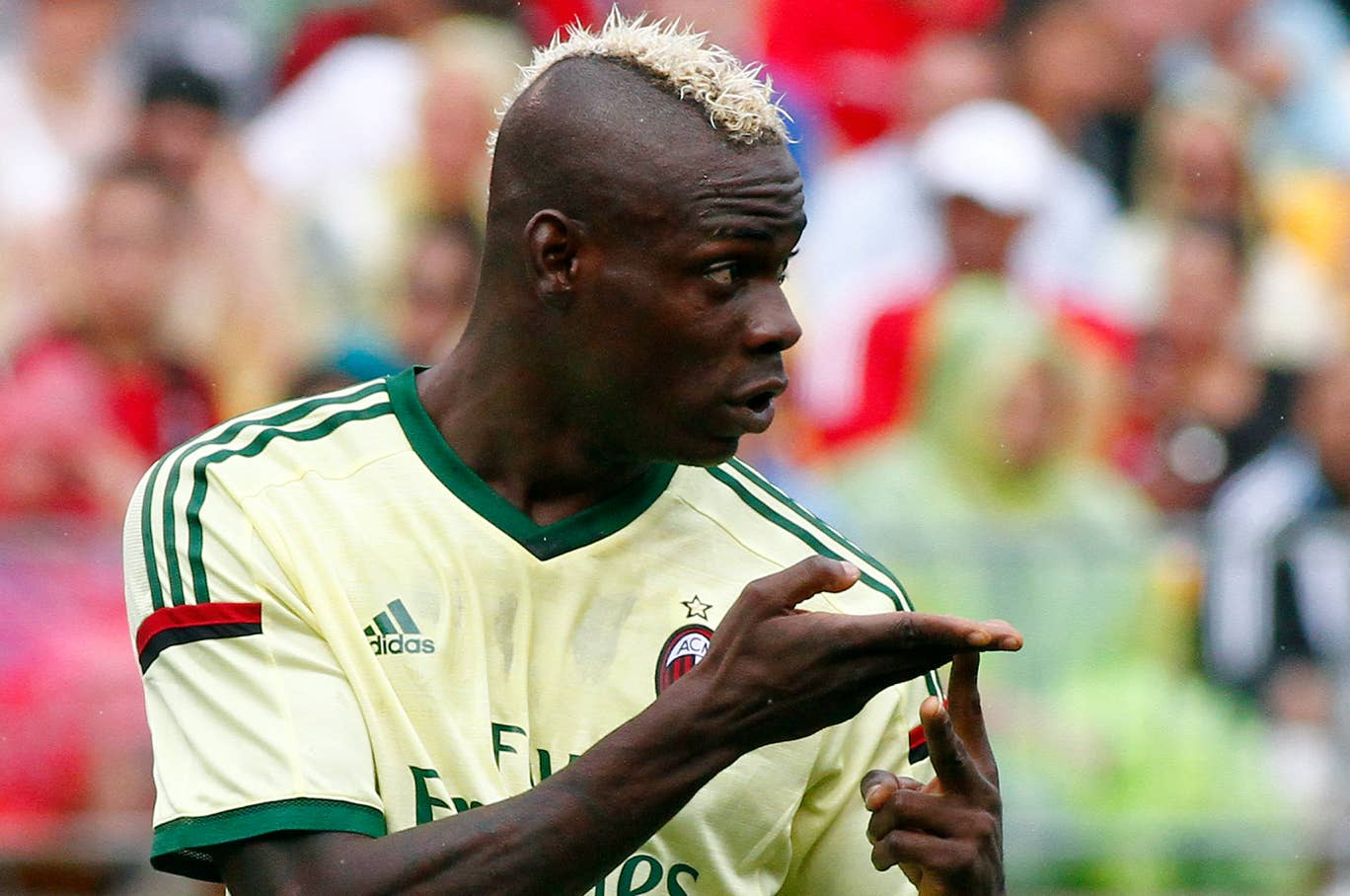 Rodgers showered praise on Balotelli last week, which led to speculation he could sign the AC Milan front man