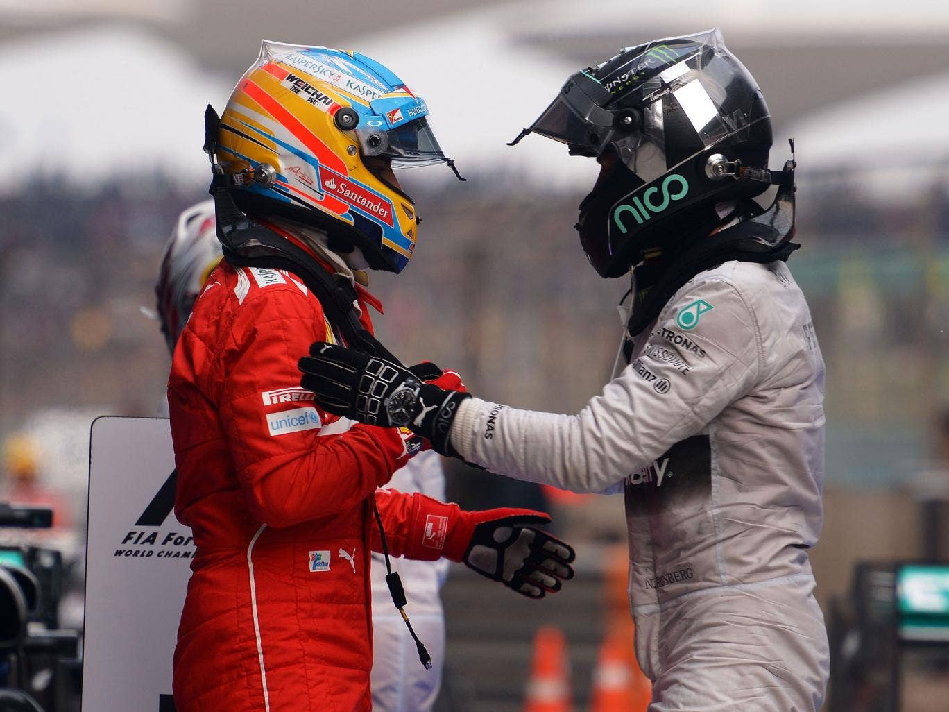 Fernando Alonso believes Mercedes have been the biggest surprise of the season