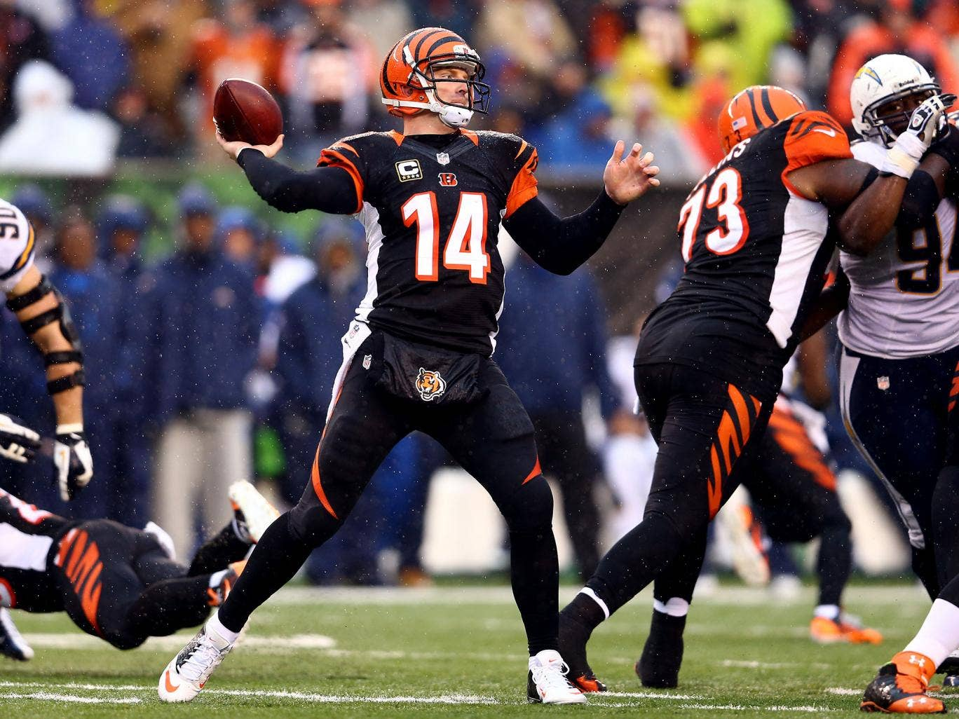 The Cincinnati Bengals have handed Andy Dalton a six-year, $115m contract extension