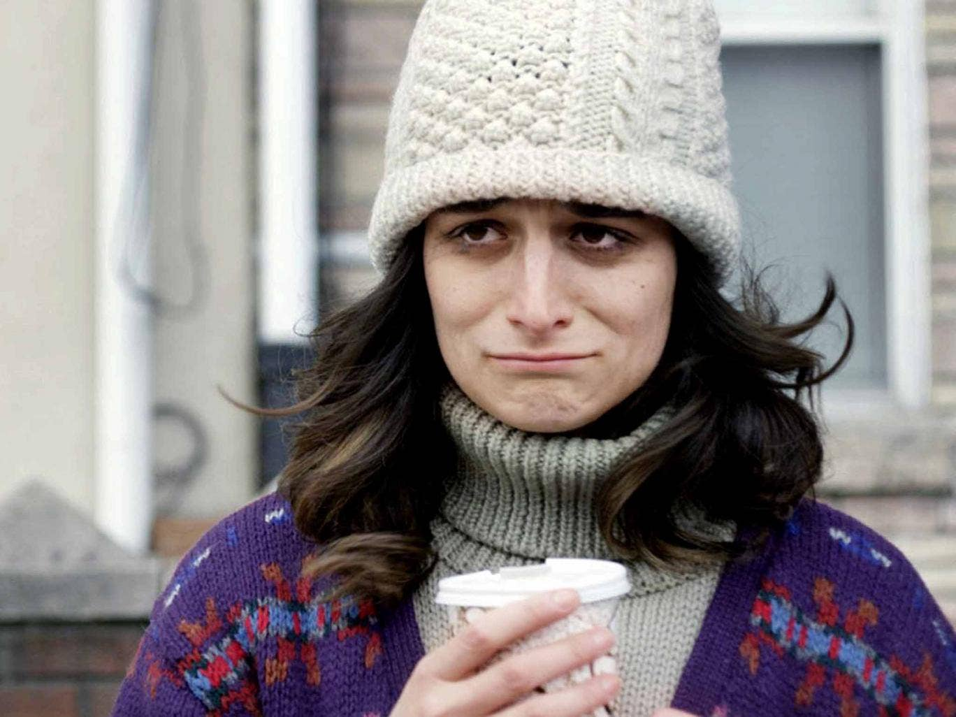 Single-minded: in the film 'Obvious Child', Jenny Slate plays a woman who doesn't feel a great stigma attached to having an abortion