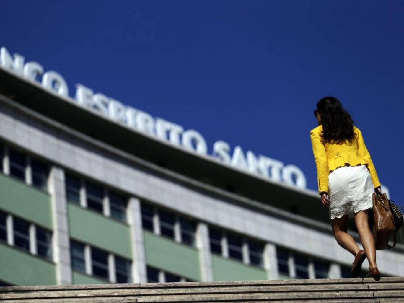 Banco Espirito Santo in Lisbon, Portugal: The bank needed bailing out despite passing stress tests