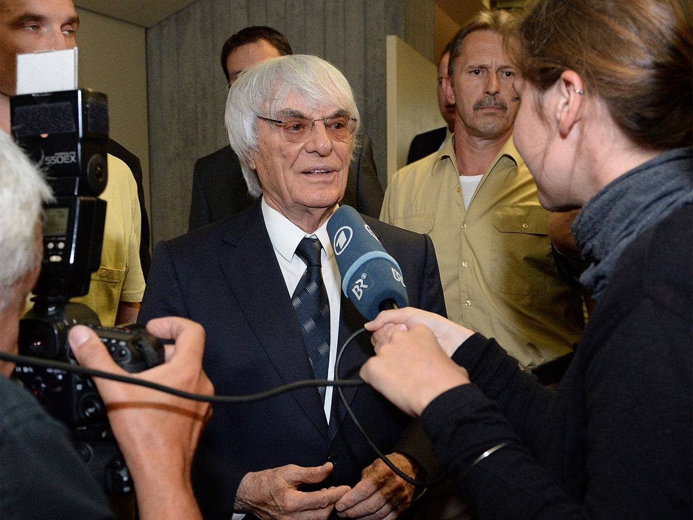 Bernie Ecclestone says he only paid $100m to settle the case because he can afford to pay that sum