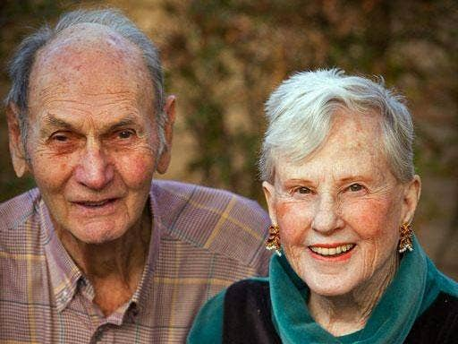 Don Simpson and his wife, Maxine