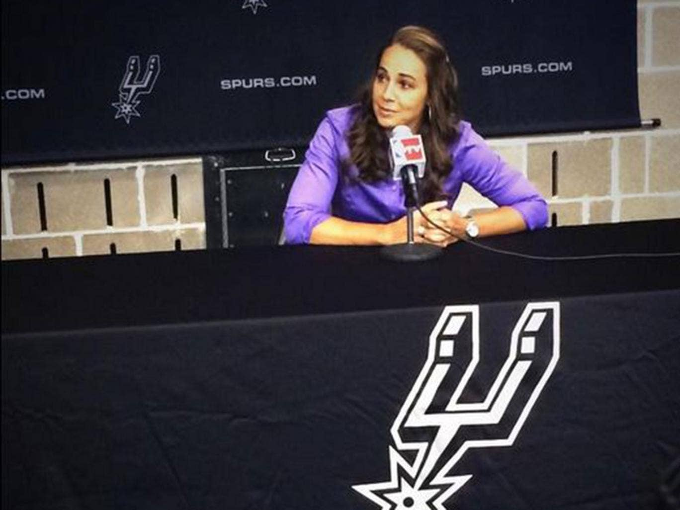 Becky Hammon has become the first full-time female coach in the NBA