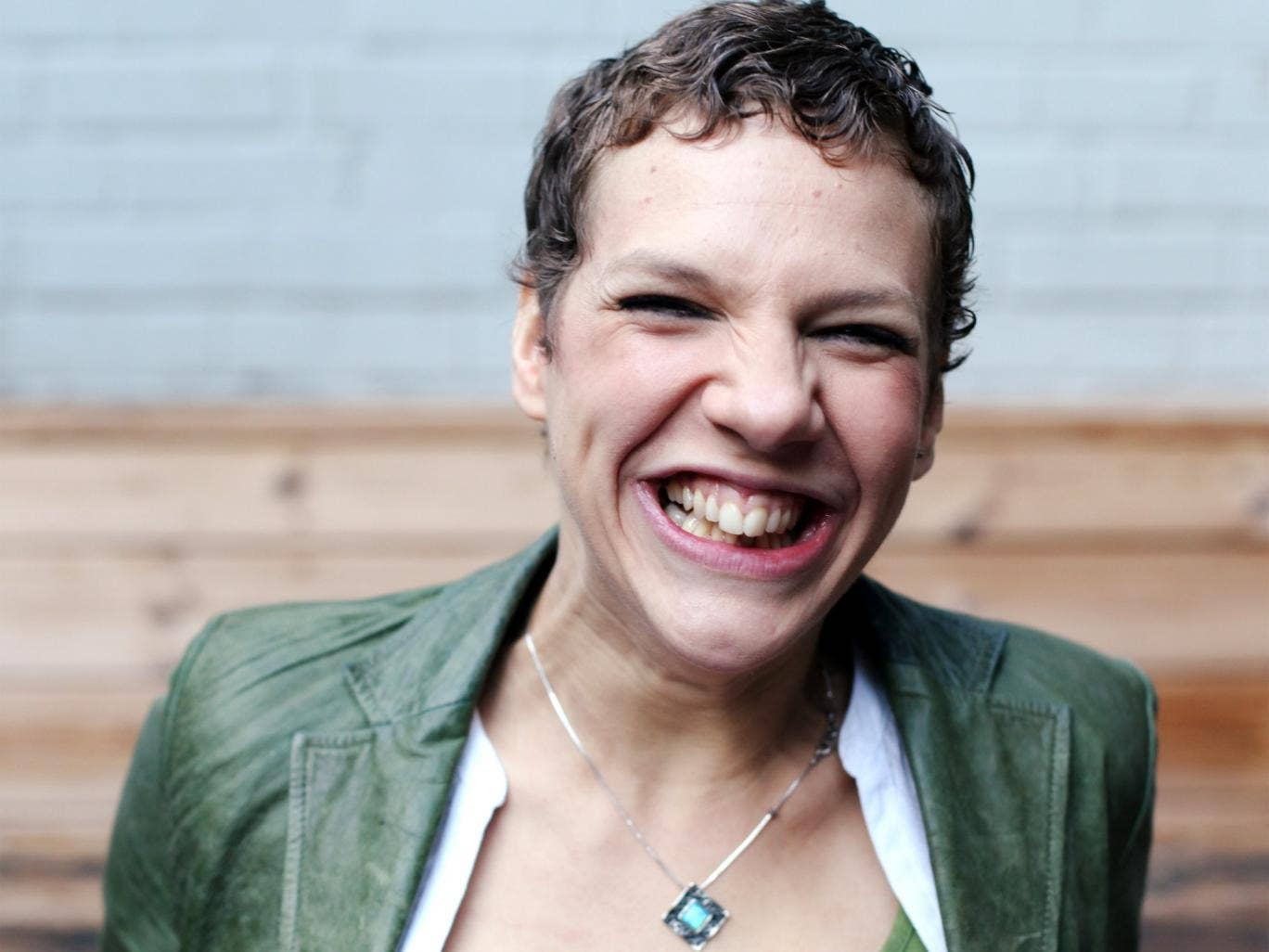 The last laugh: Francesca Martinez has turned her experiences of living with cerebral palsy into an award-winning stand-up show