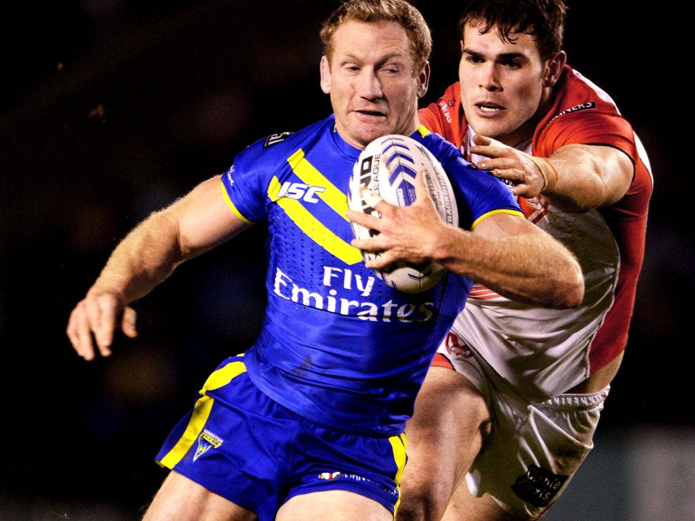 Michael Monaghan has recovered from a calf injury and will be vital for Warrington on Saturday