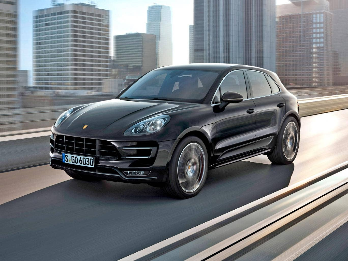 Pointless?... The new Porsche Macan Turbo