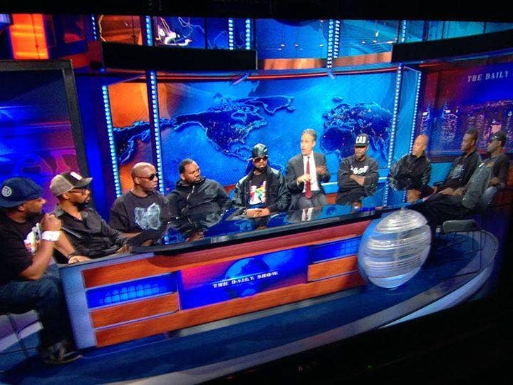 Wu-Tang Clan reunited for a performance on The Daily Show