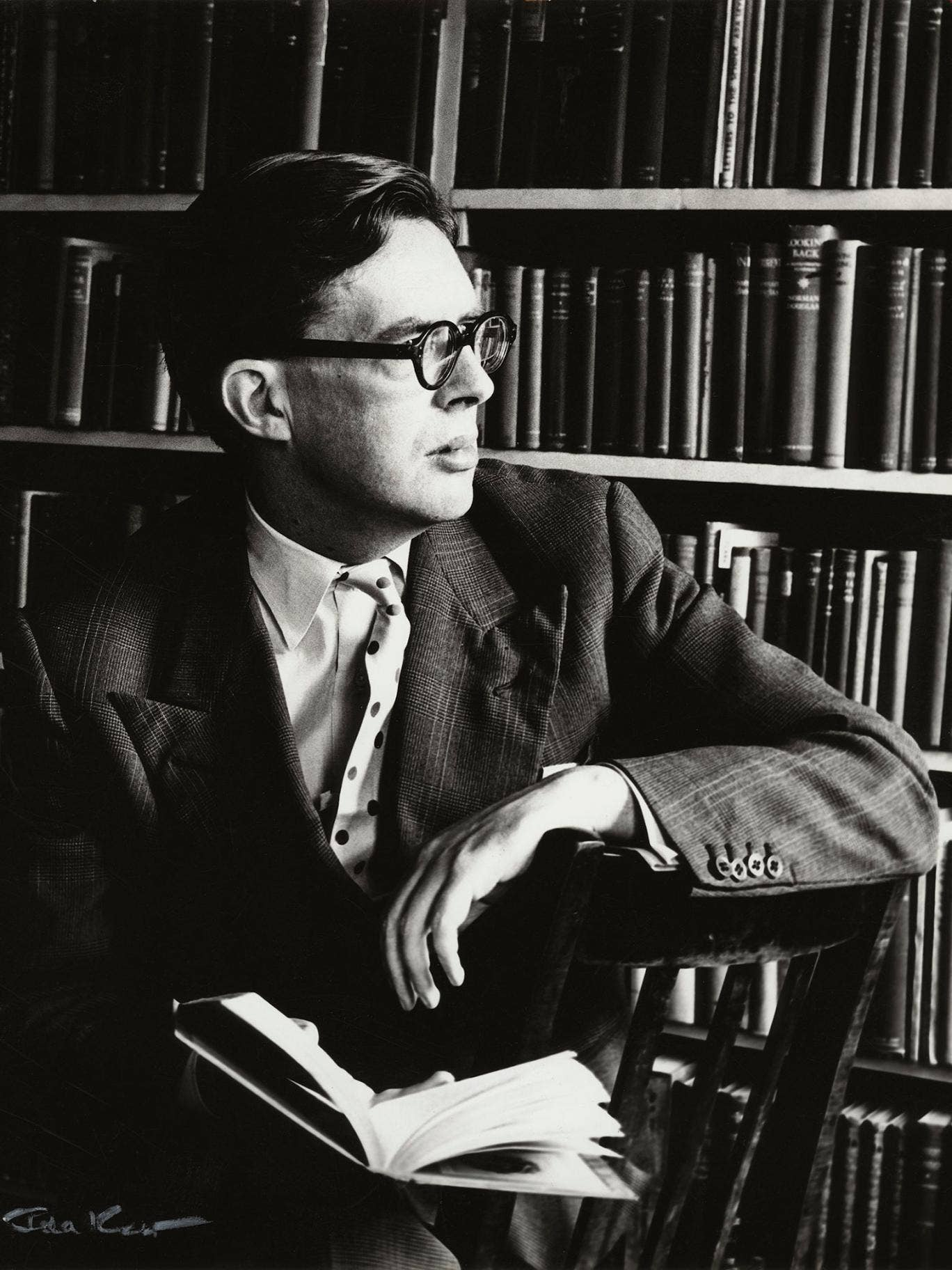 Ghost writer: Robert Aickman pictured in 1960