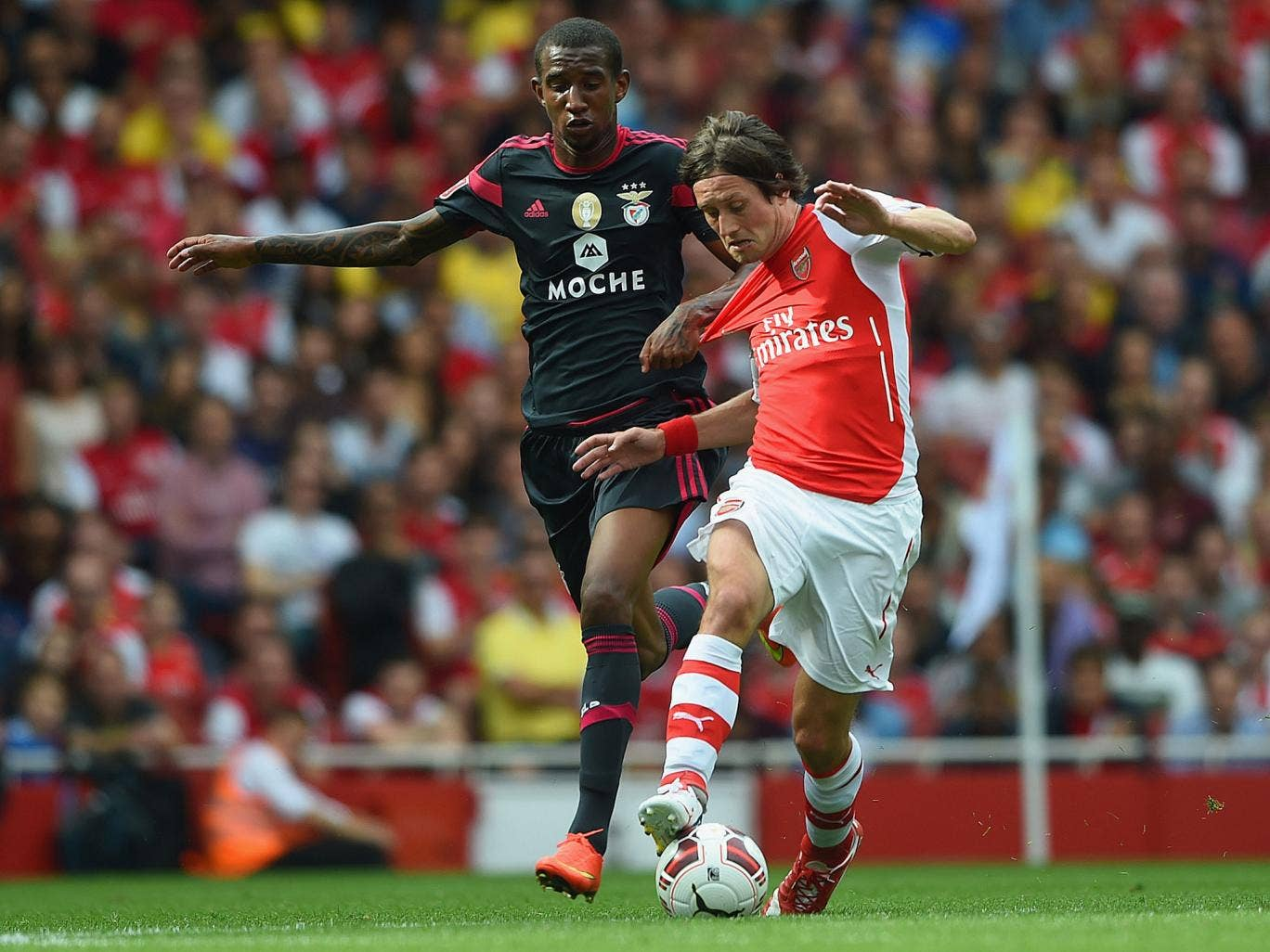 Tomas Rosicky is now the third longest-serving player in the current Arsenal squad