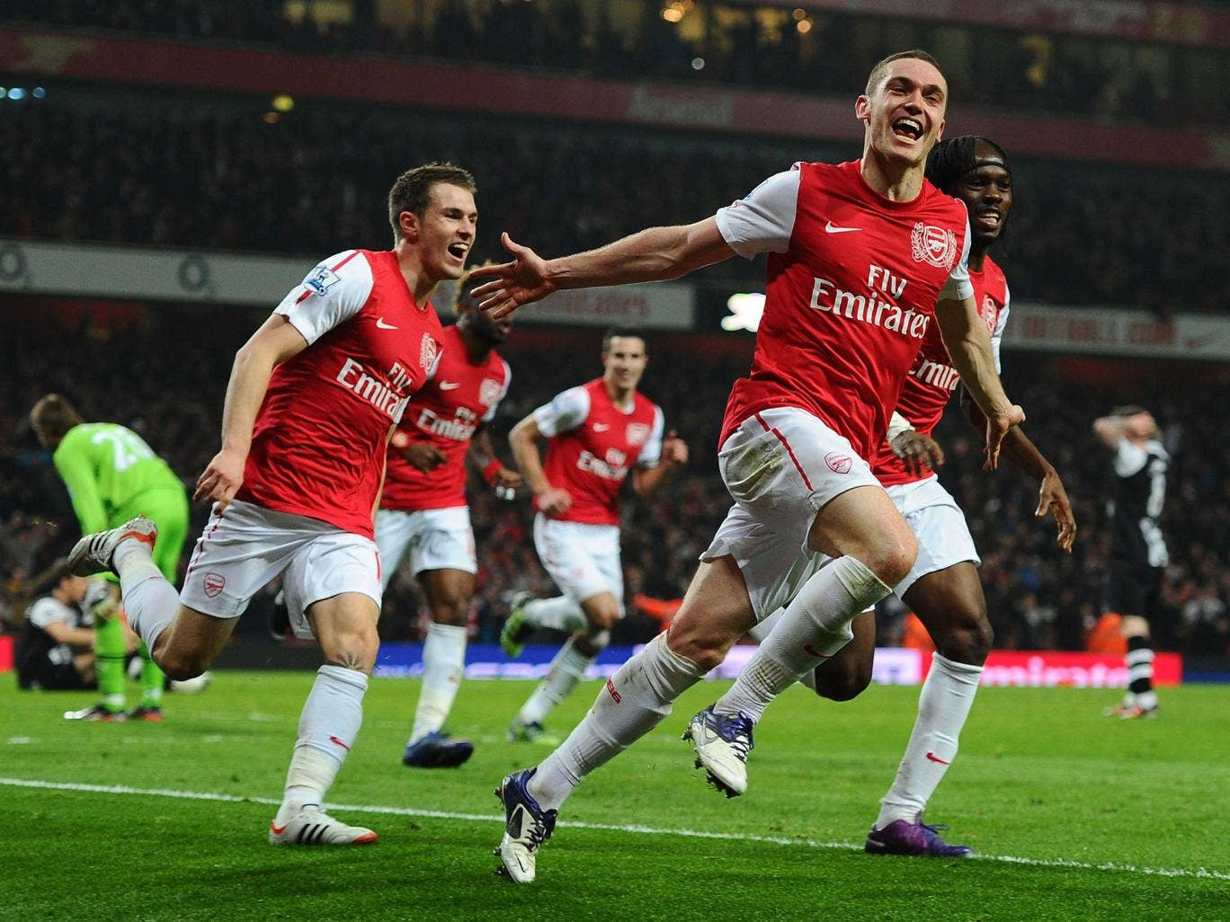 Thomas Vermaelen enjoyed some happy times at Arsenal but a loss of form led to him being relegated to third-choice centre-back