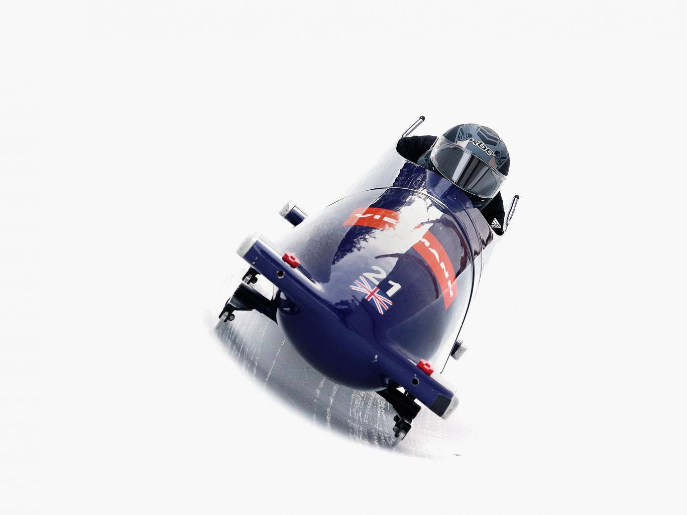 Team GB's bobsledding competitors benefit from the same state-of-the art BAE Systems technology that goes into, say, BAE-designed tanks