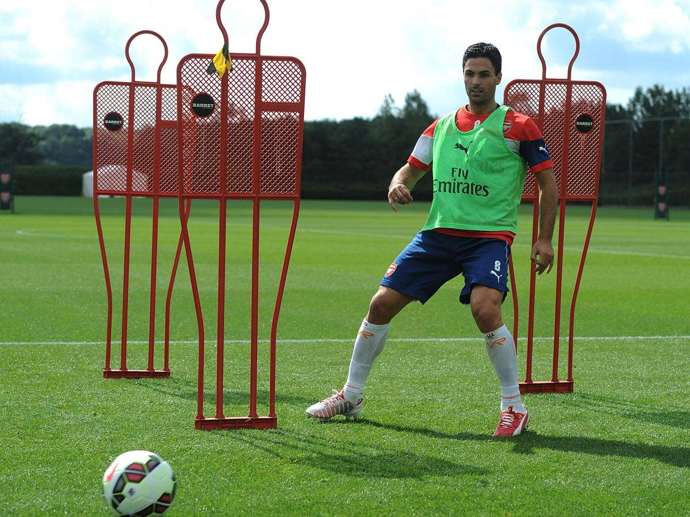 Mikel Arteta is set to be named Arsenal captain