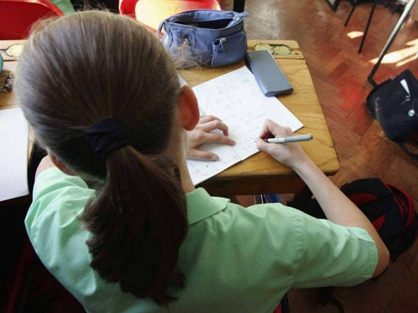 Do the maths: GCSE study could start at age 13 when new exams are introduced