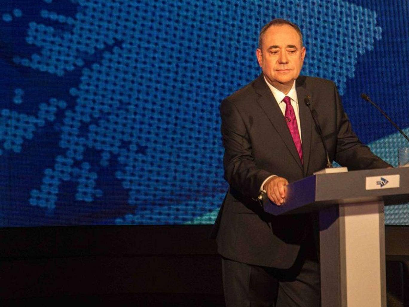 Salmond: Not appealing to female voters?