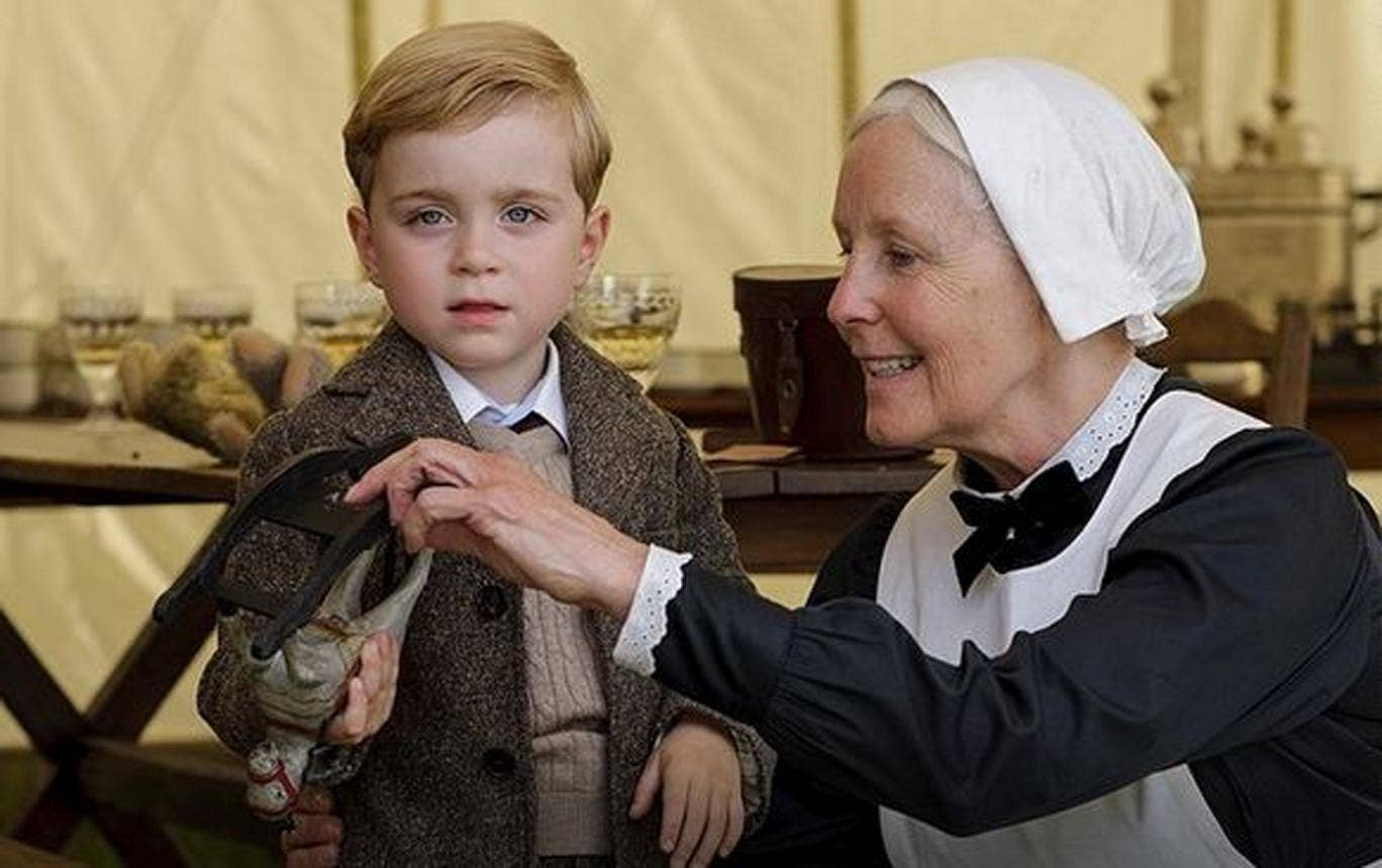 Little George Crawley in a spoiler for Downton Abbey series five