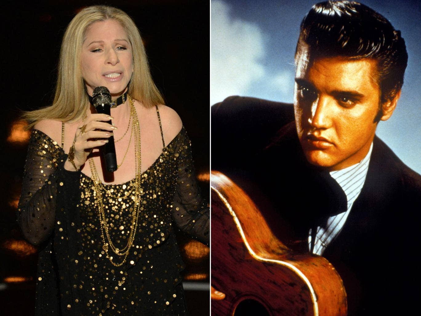 Elvis Presley will duet with Barbra Streisand from beyond the grave
