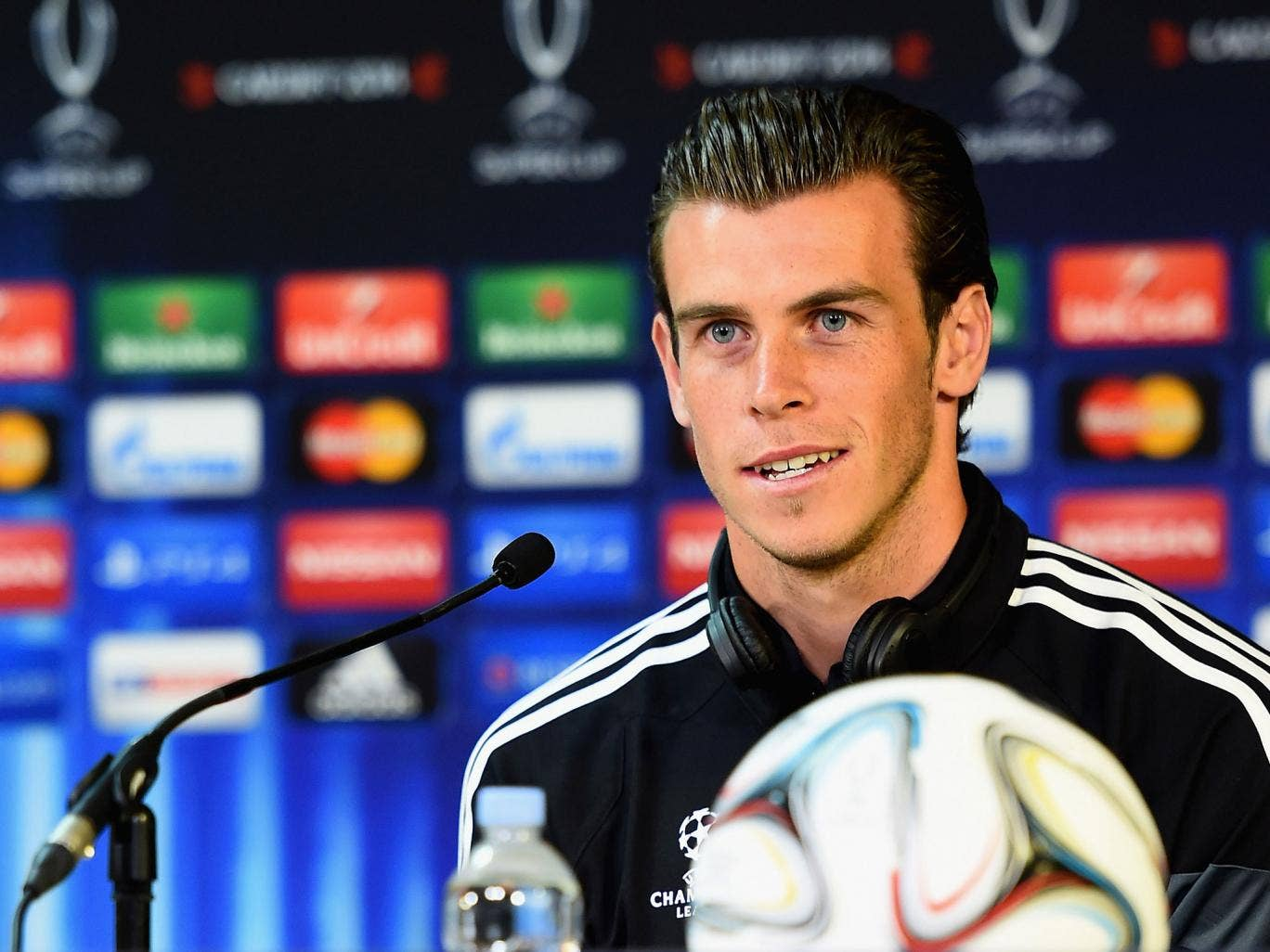 Gareth Bale is set to be the fan-favourite when the Uefa Super Cup takes place in Cardiff