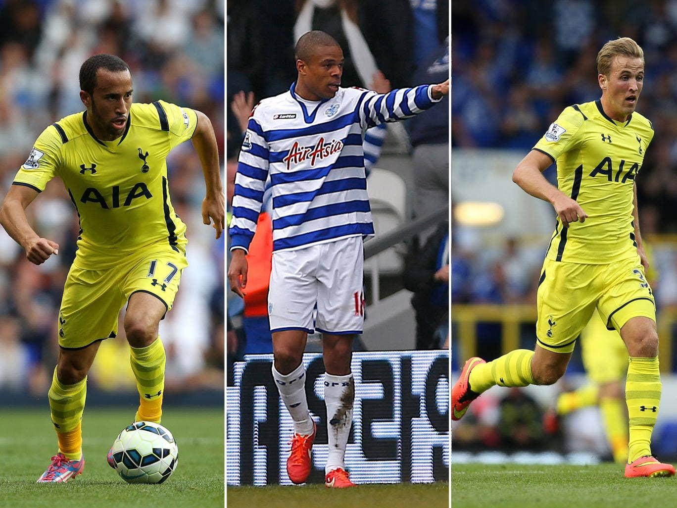 Andros Townsend and Harry Kane could be offered to QPR in return of Loic Remy