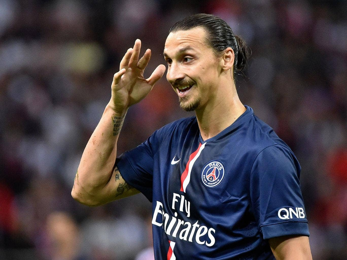 Paris Saint-Germain striker Zlatan Ibrahimovich has donated £30,000 to help the Swedish learning difficulties national team compete in the INAS World Championships in Brazil.