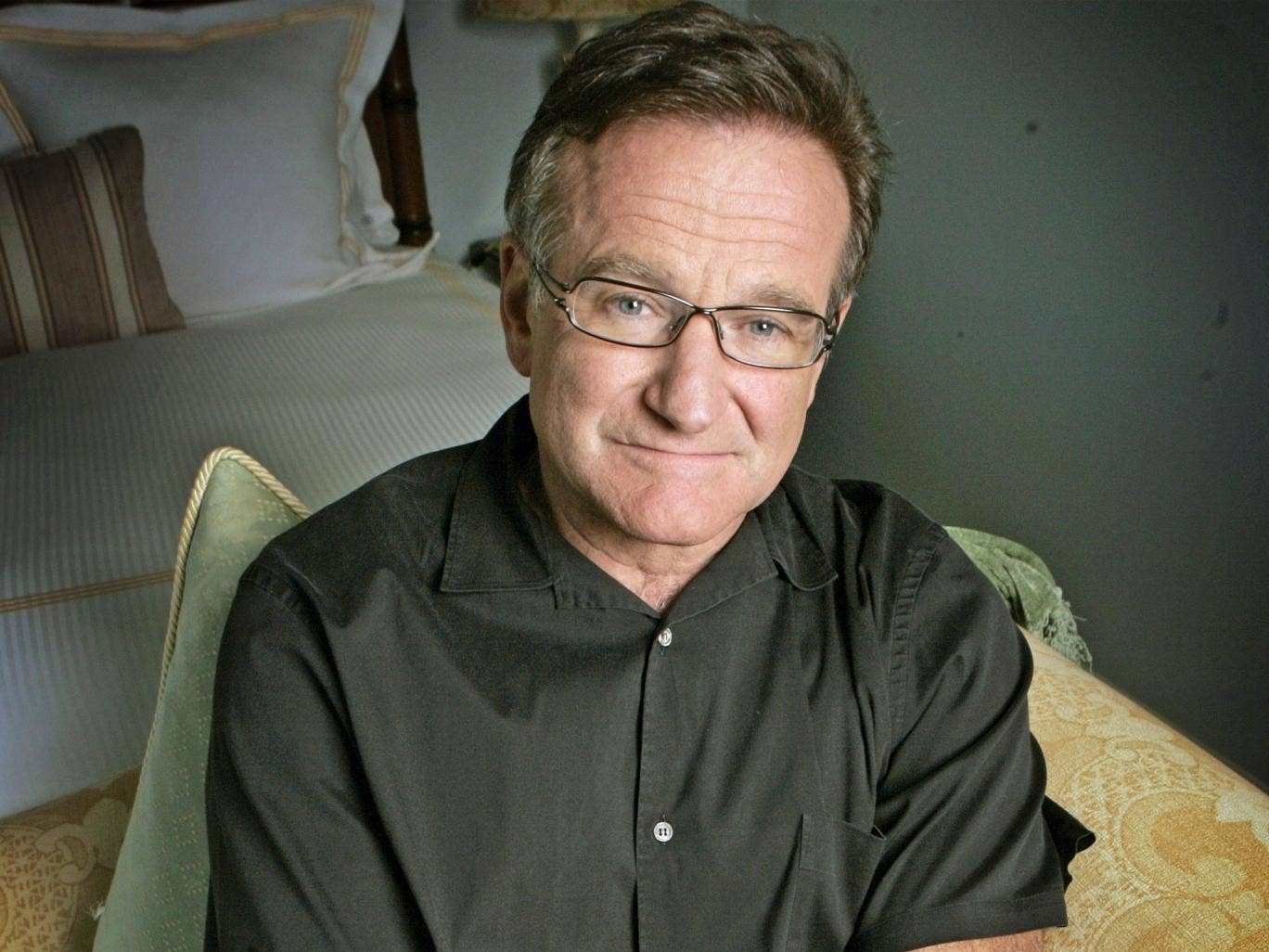 Robin Williams in California in 2007, to promote his film 'License  To Wed'