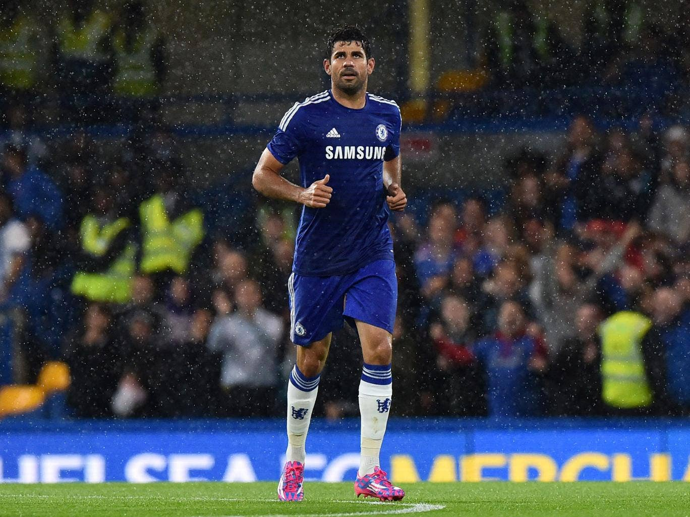 Jose Mourinho called Diego Costa 'a bargain' after seeing him score twice on his home debut