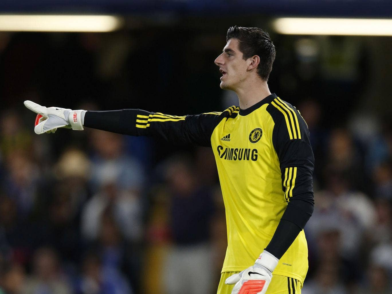 Thibaut Courtois played 90 minutes against Real Sociedad but Jose Mourinho will wait on No 1 choice
