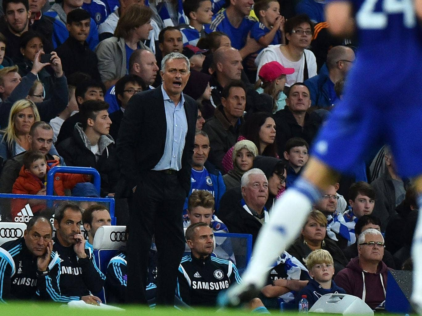 Mourinho has become visibly exasperated during pre-season