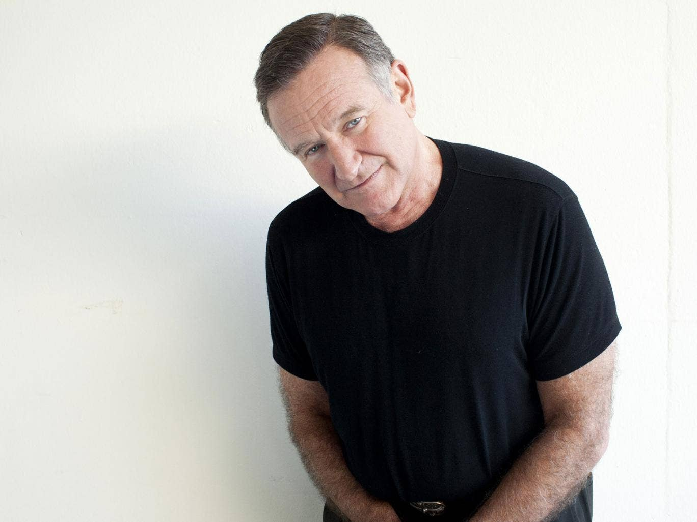 Touching lives: Robin Williams in 2011