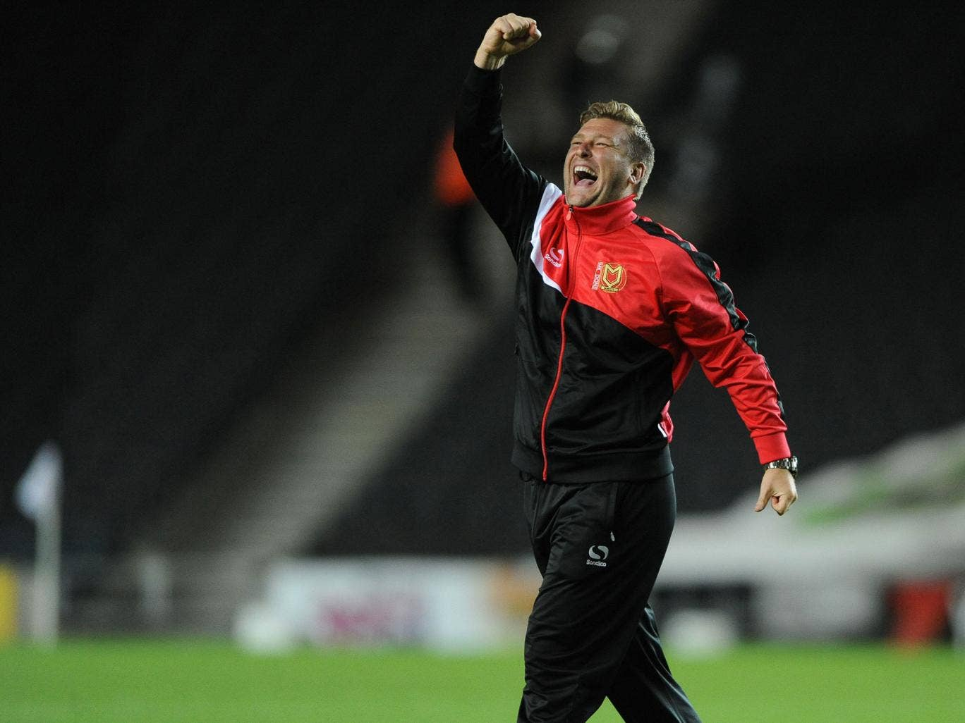 Robinson celebrated five years at the MK Dons helm in May and guided the club into the Sky Bet Championship last season as runne