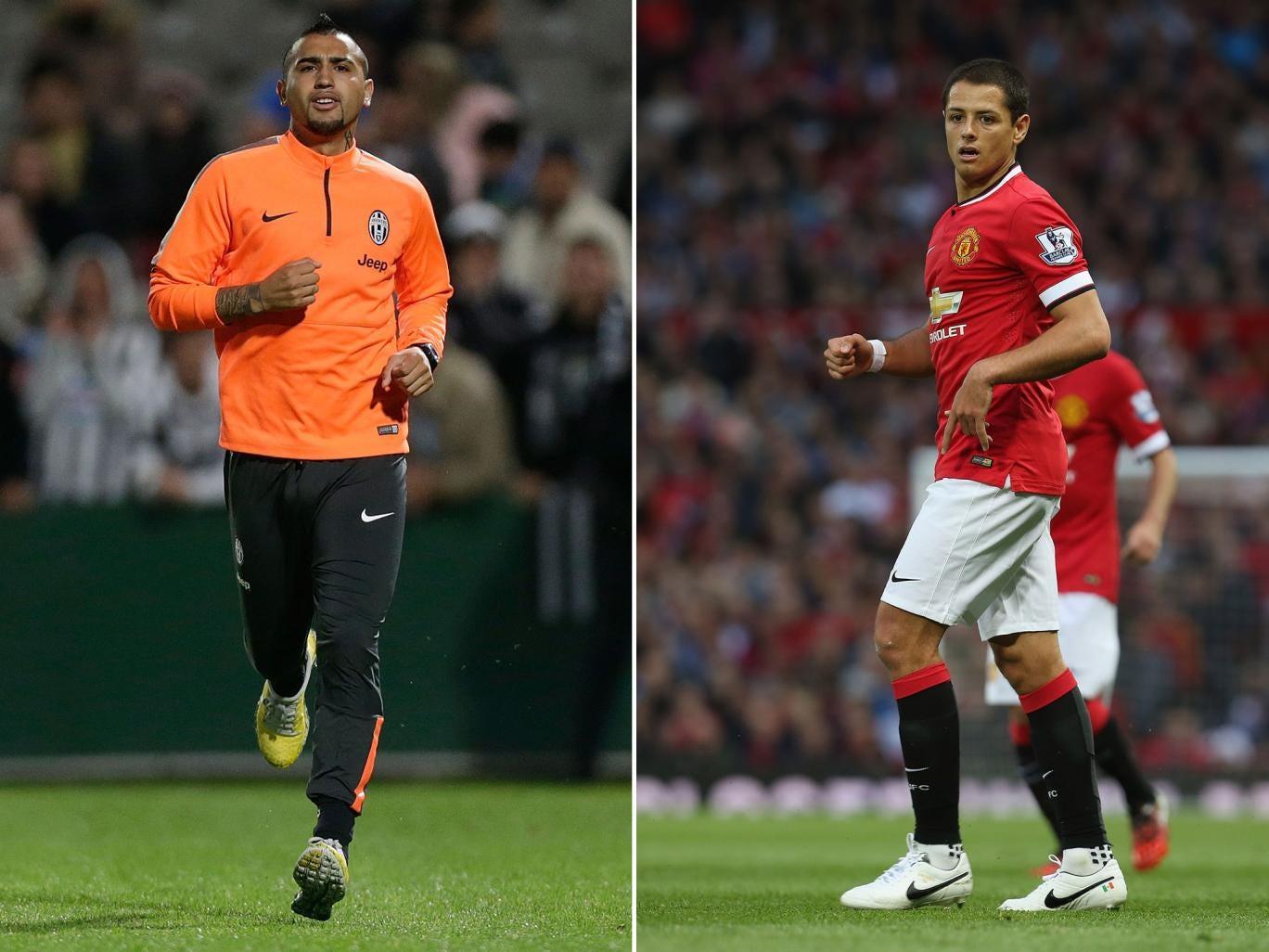 Arturo Vidal and Javier Hernandez could swap clubs this summer