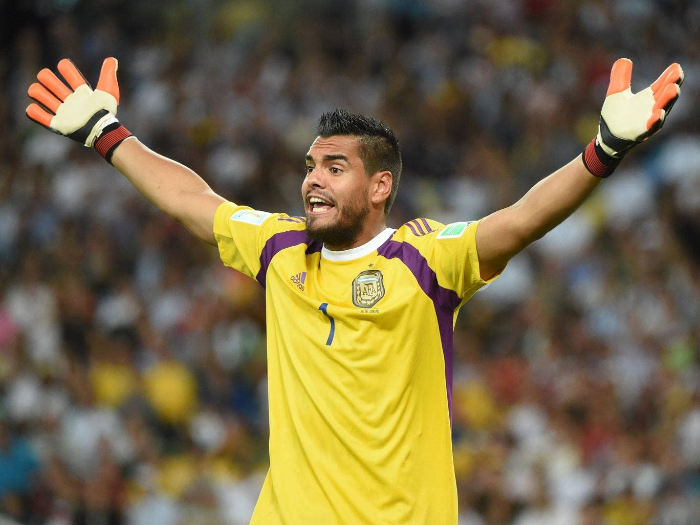 Sergio Romero could be a transfer target for Liverpool