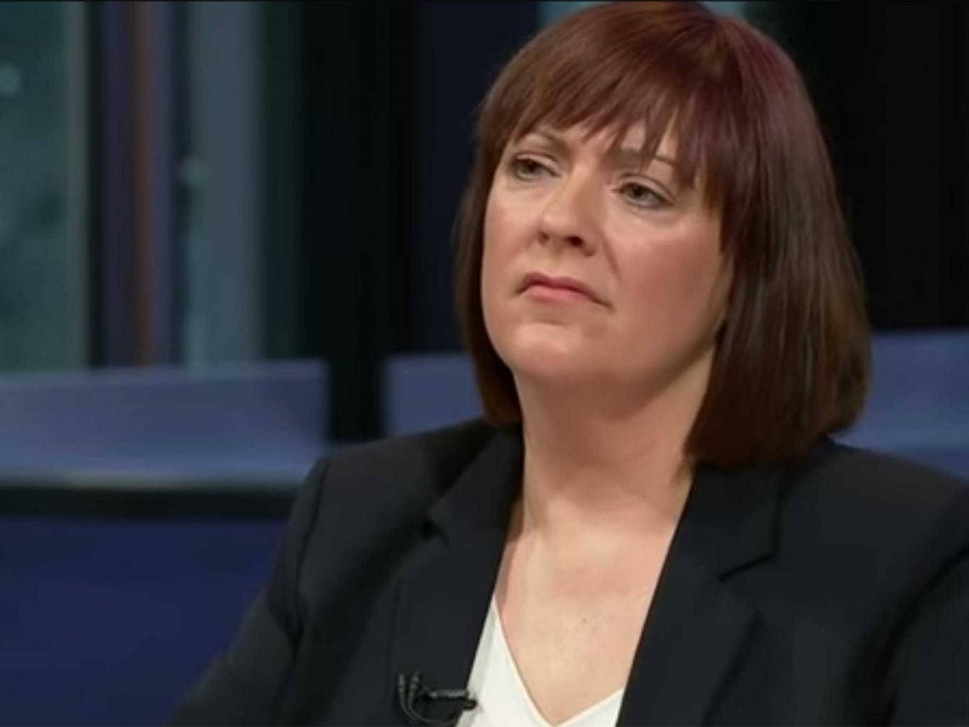 Louise Bours on Question Time
