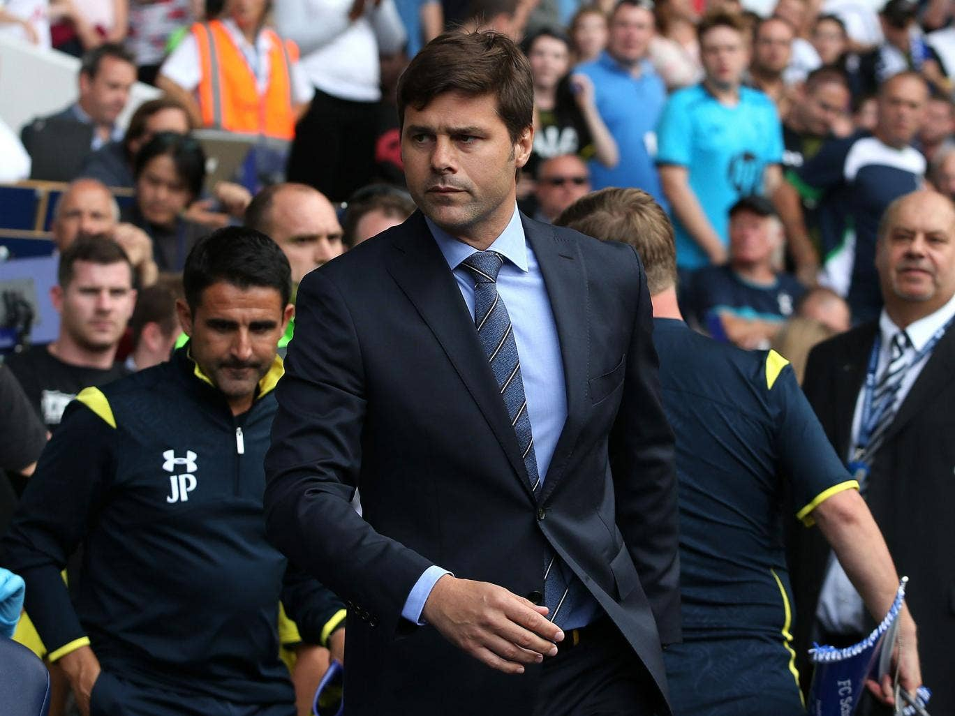 Mauricio Pochettino has refused to comment on Tottenham's move for Morgan Scheiderlin