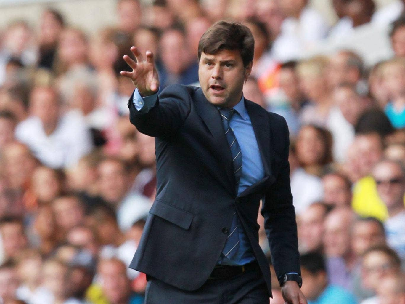 Mauricio Pochettino says he expects to be judged on his side's results from day one