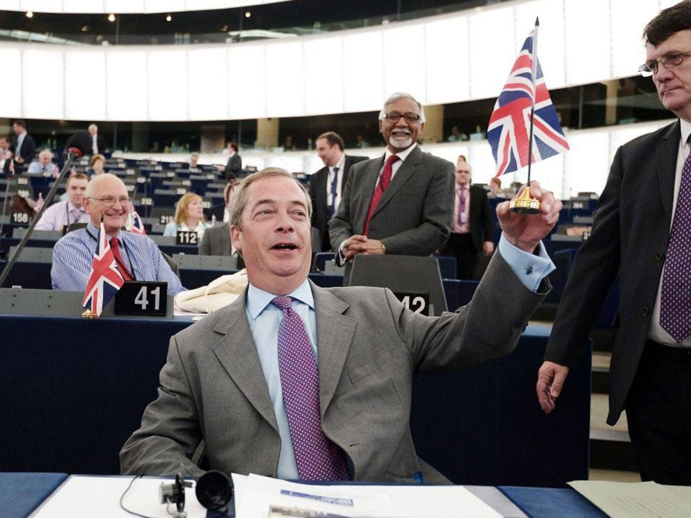 Ukip topped the poll in this year's European elections