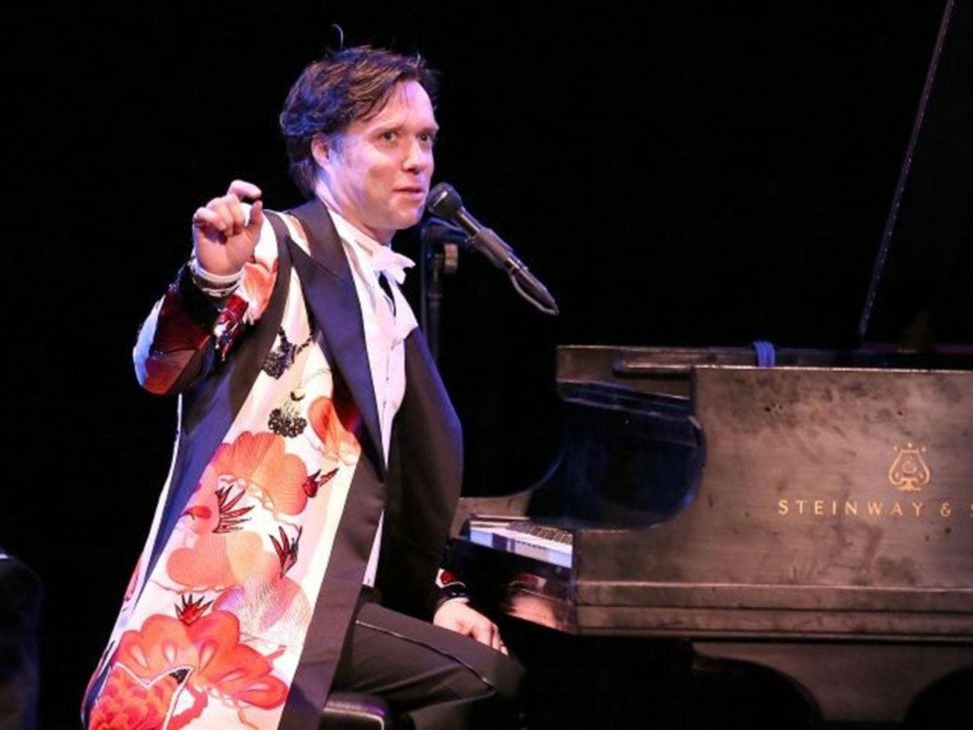 Rufus Wainwright performs at Town Hall on April 15, 2014 in New York City
