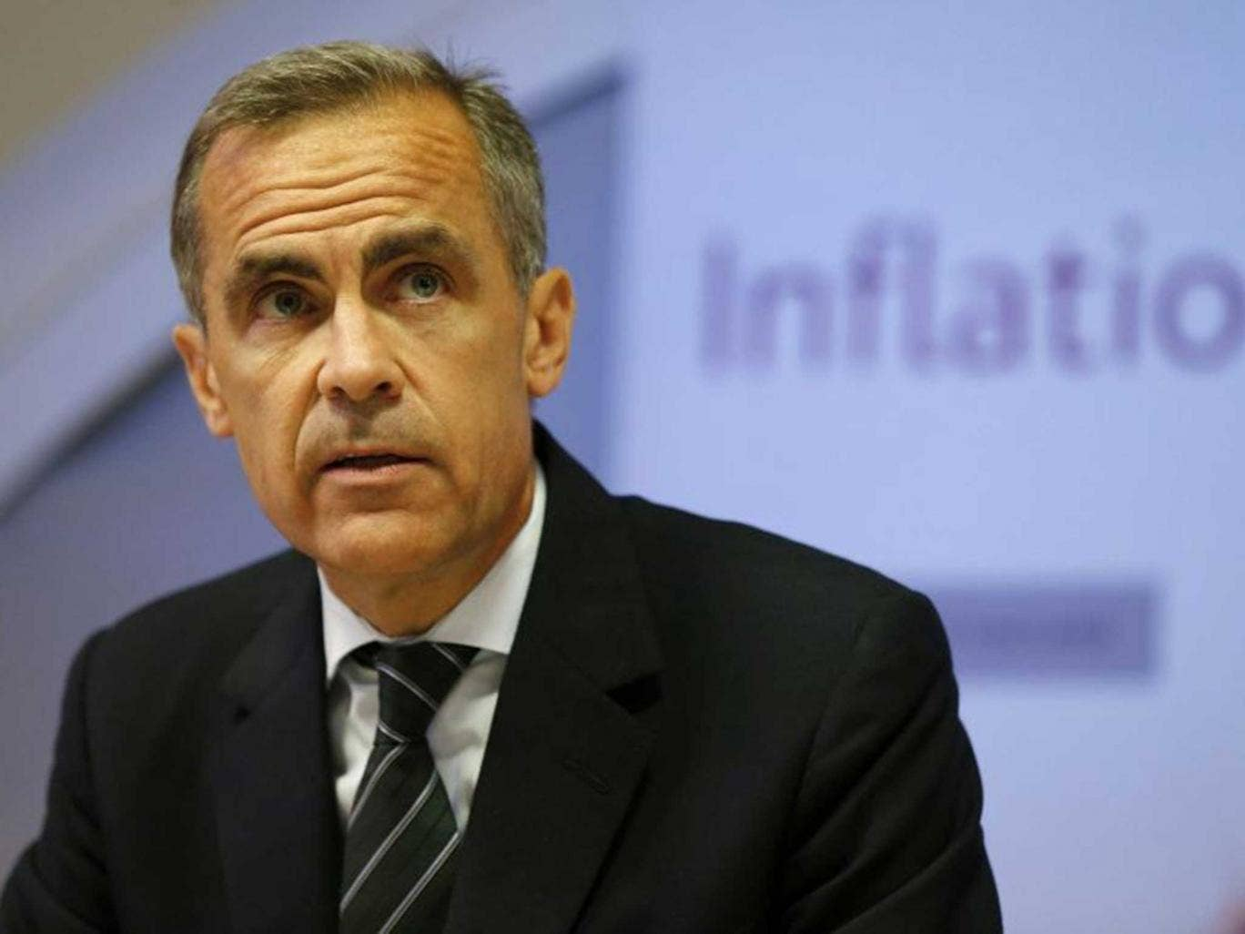 Mark Carney lamented 'remarkably weak' pay growth at last week's Inflation Report after claiming in May it could hit 2.5 per cent this year