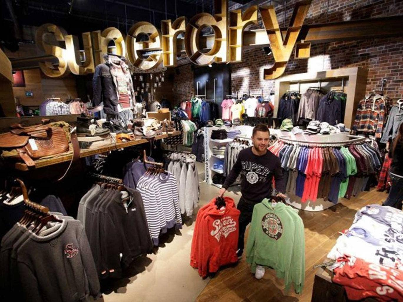 Superdry are one of Attraqt's high-profile customers which has improved its online trading performance