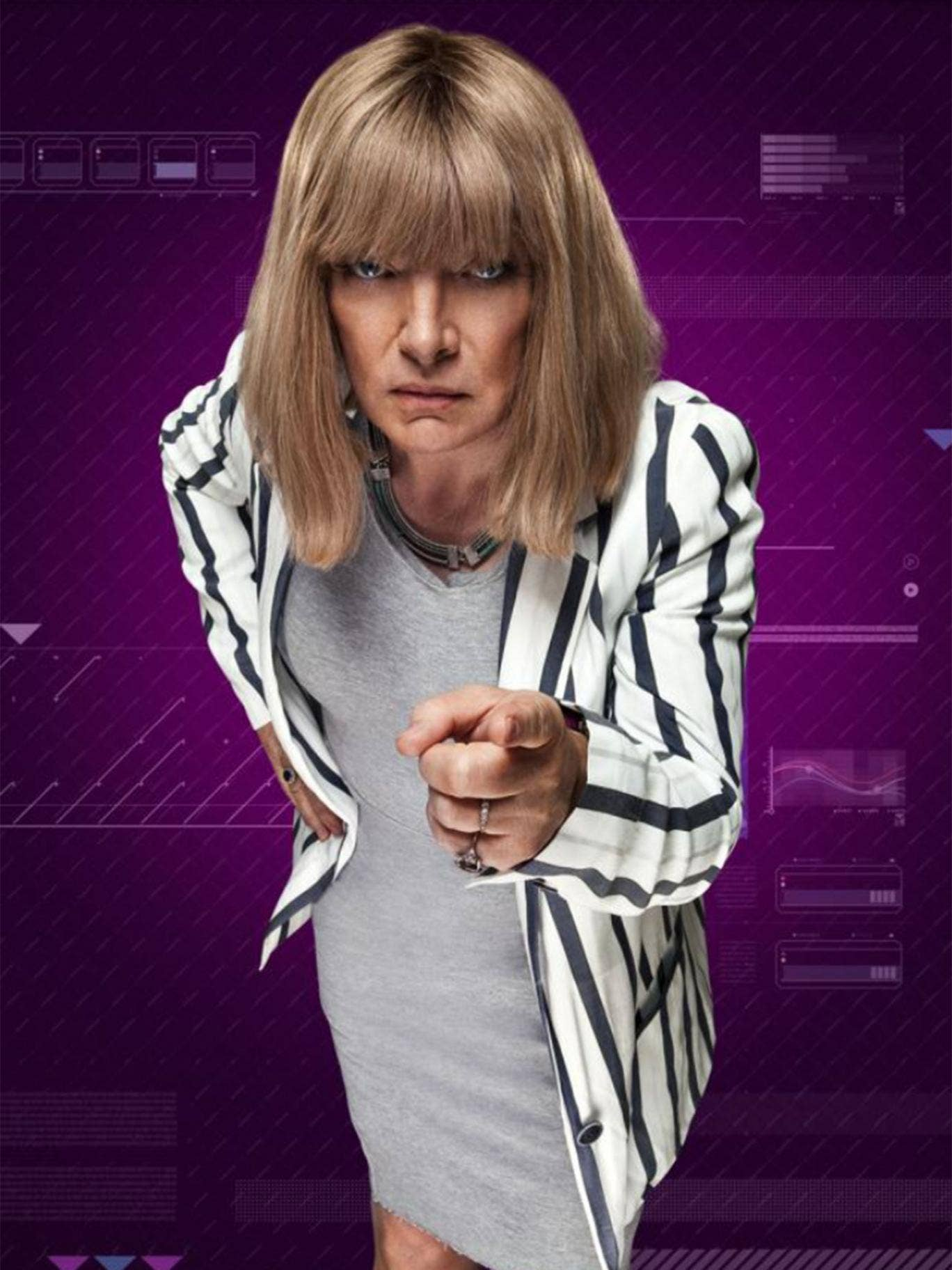 Former boxing promoter Kellie Maloney, formerly known as Frank