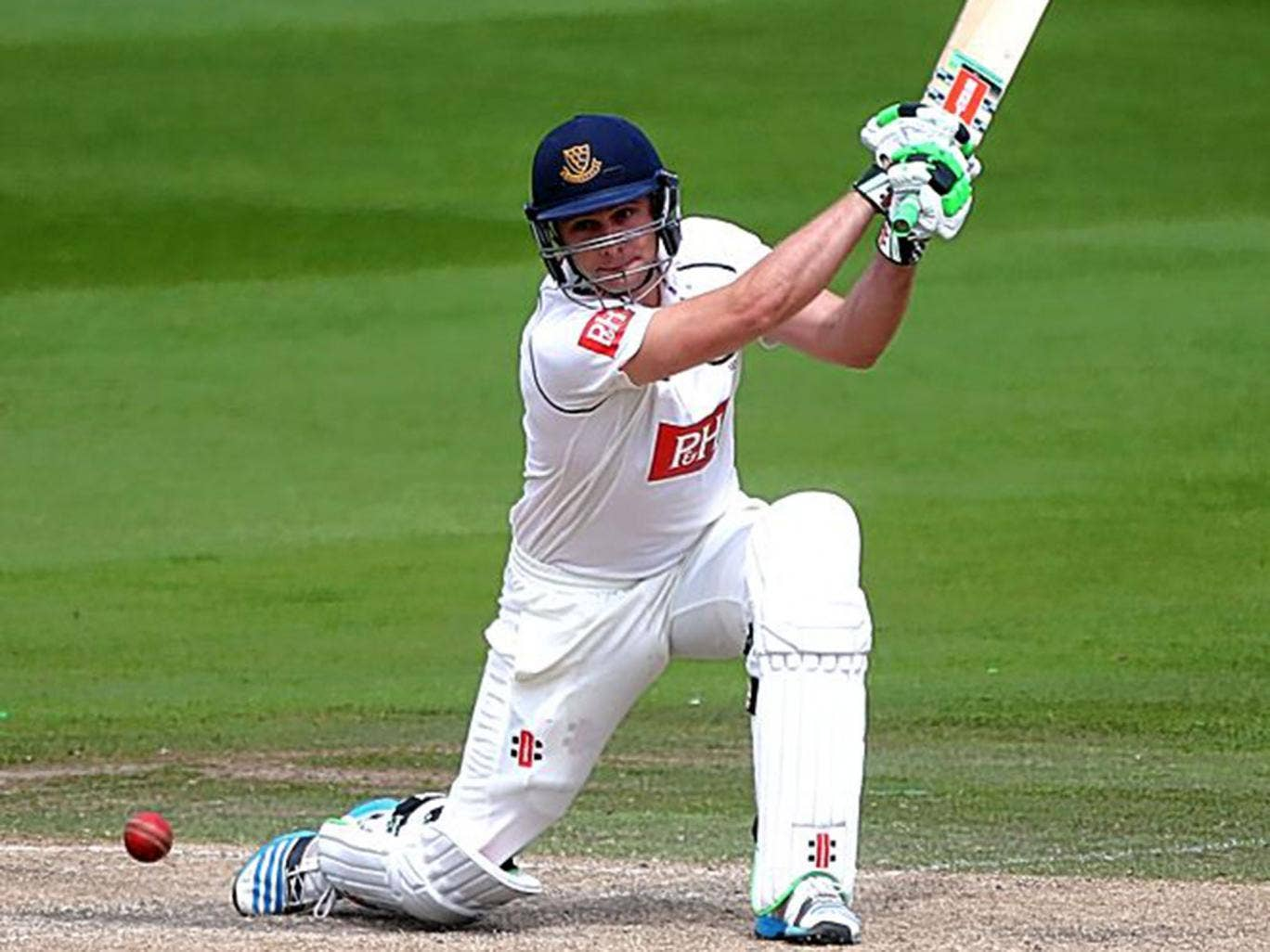 Luke Wright hit a superb century in defeat to Yorkshire