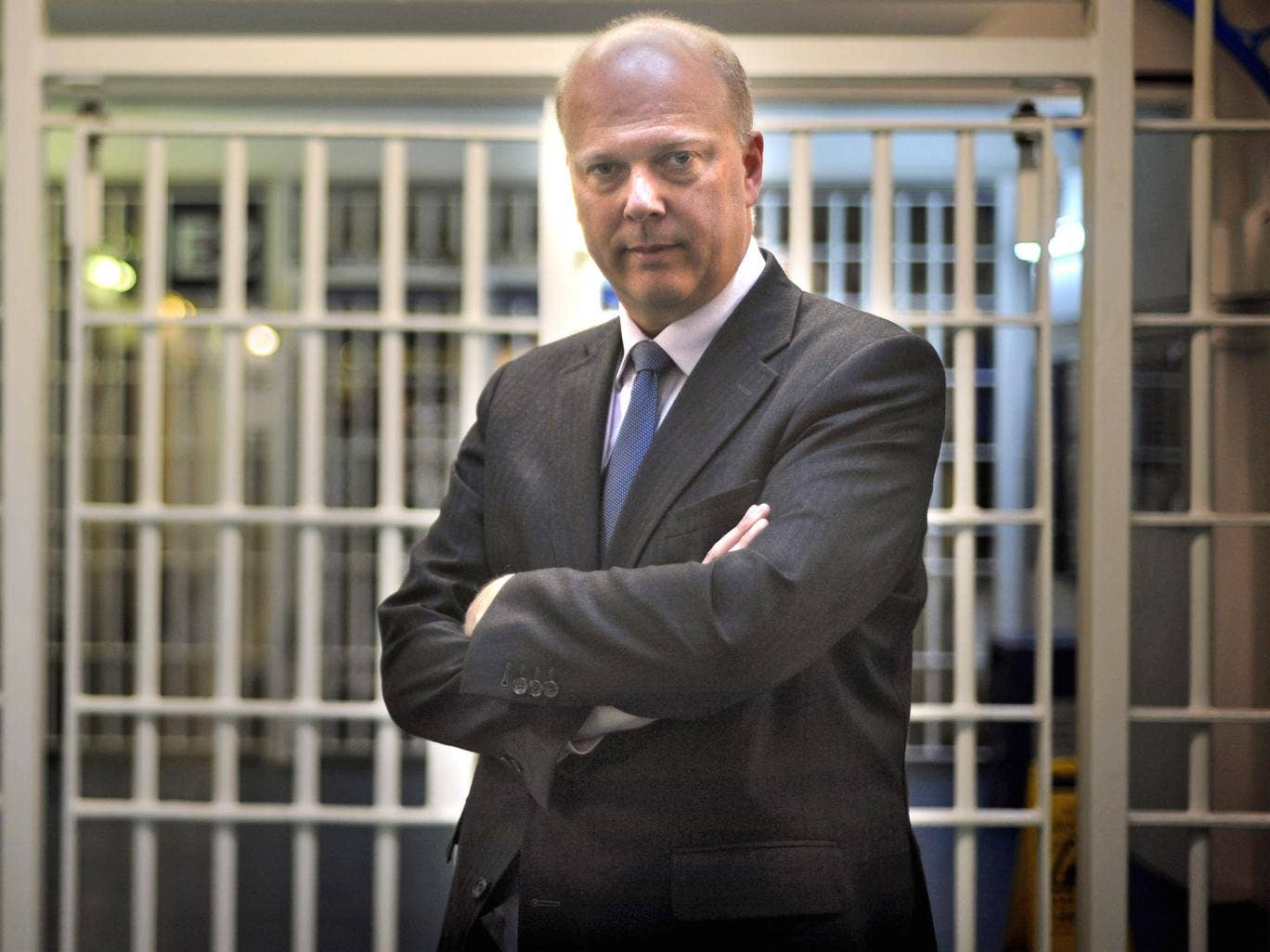 Chris Grayling, Justice Secretary: 'There are pressures which we are facing but there is not a crisis'