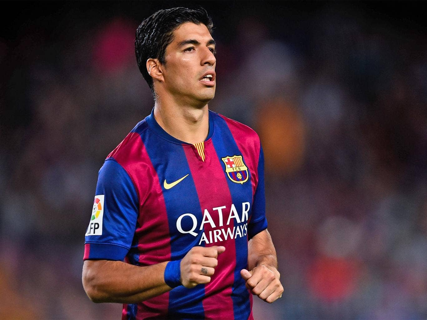 Barcelona have pinned their hopes on Luis Suarez giving them an edge in stemming the Real Madrid tide