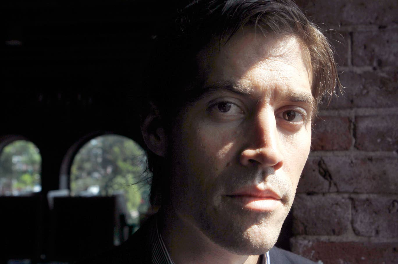 James Foley responds to questions during an interview with The Associated Press, in Boston